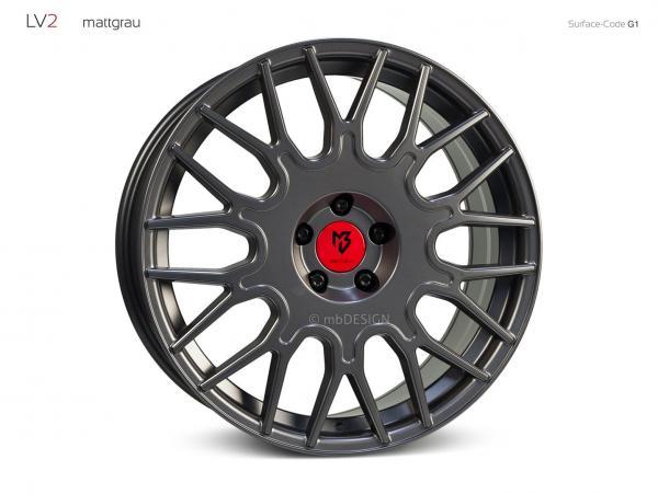 4x LV2 in 8,5x19 auf 5x112 und ET35 für Audi RS Q3 8U