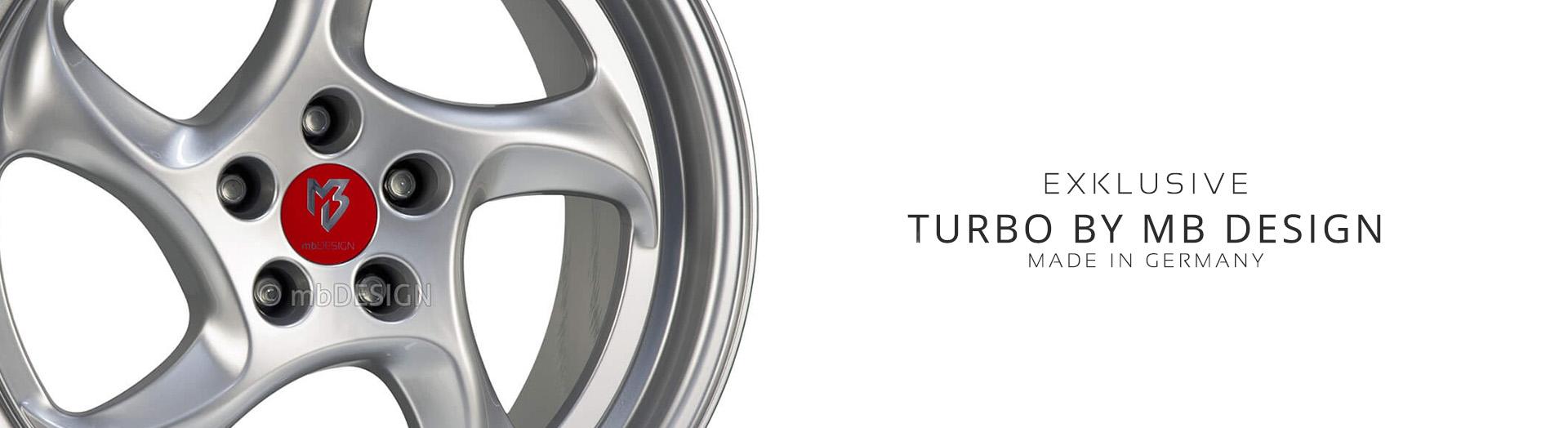 Turbo (1tlg) kaufen bei MB Design Felgen Online Shop