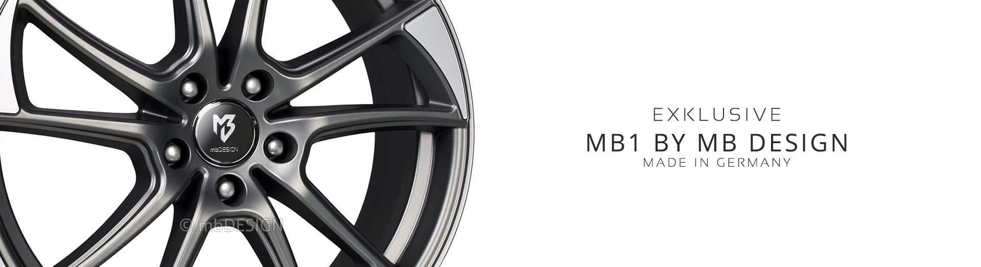 MB1 kaufen bei MB Design Felgen Online Shop